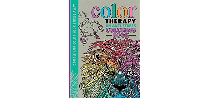 Art Therapy Coloring-In Book