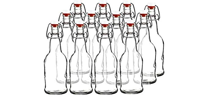 Easy Cap Brewing Bottles