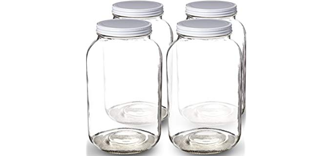 1 Gallon Glass Jars