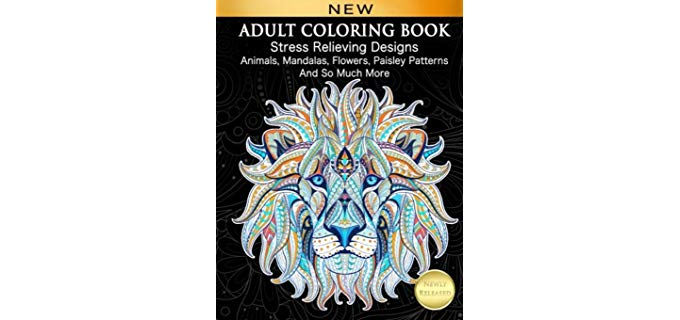 Coloring-In Book